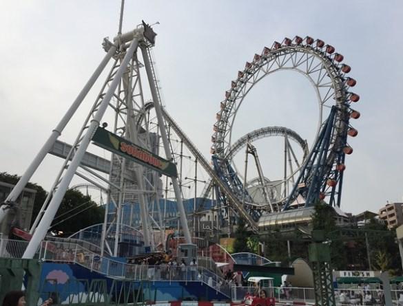 東京ドームシティアトラクションズ,混雑状況,夏休み,盆休み,アクセス,駐車場