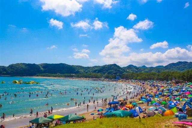 弓ヶ浜海水浴場,駐車場,混雑状況,海開き,アクセス,シャワー,トイレ