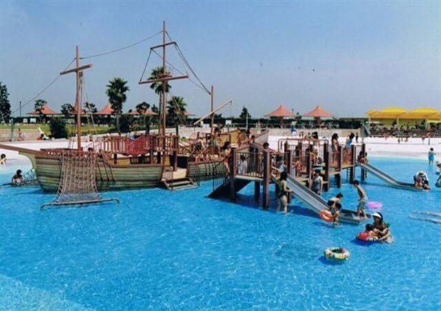 サンビーチ日光川,夏休み,混雑状況,プール開き,駐車場,アクセス,シャワー