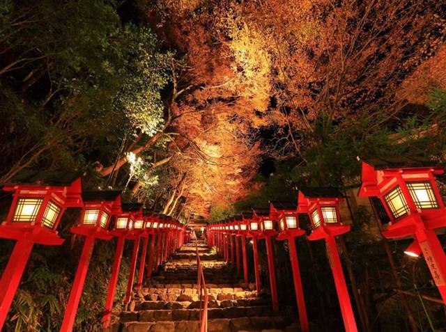 貴船神社,紅葉,名所,見頃,見ごろ,時期,人気,ランキング,駐車場,混雑